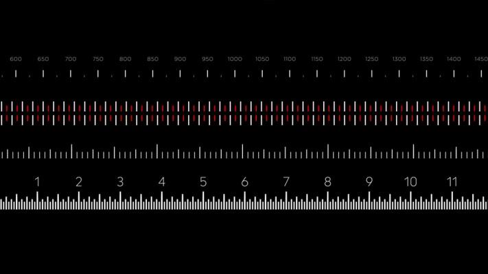 ae脚本:快速创建刻度标尺图形动画脚本 aescripts easyrulers v1.