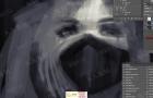 华籍画师超精彩画笔数字绘画女性角色视频教程 附笔刷