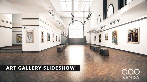 展厅艺术馆照片图片展示片头 Art Gallery Museum