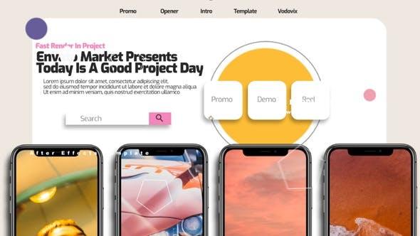 手机APP介绍宣传片头 Apps Mobile Corporate