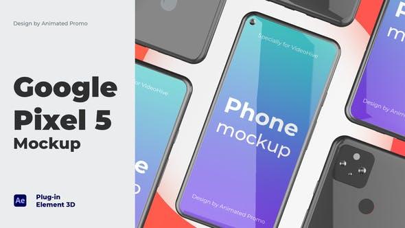 手机APP展示宣传片头 Pixel 5 Phone App – App Promo