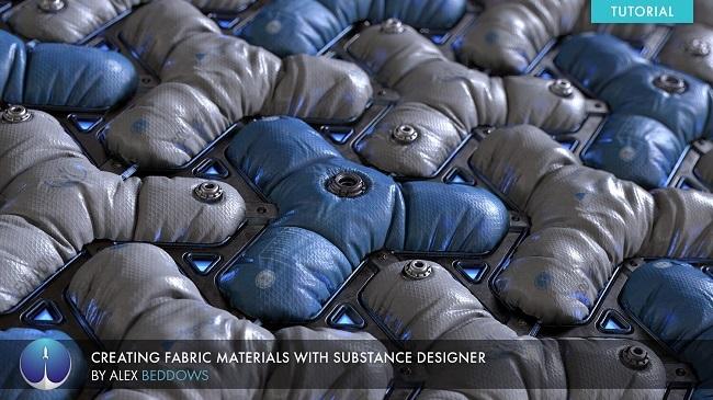 布料材质制作教程 ArtStation – Creating Fabric Materials in Substance Designer