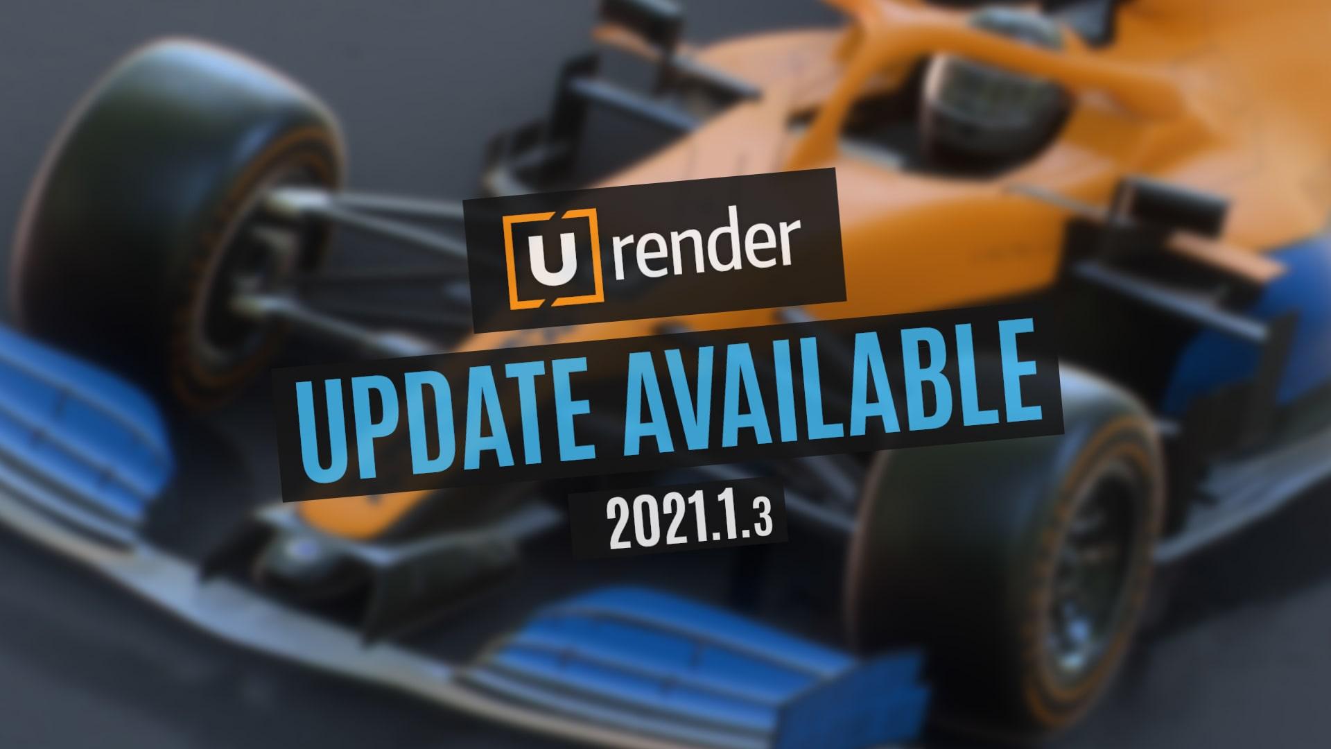 C4D PBR实时渲染器 U-Render 2021.1.3 For Cinema 4D R16-R23 Win破解版