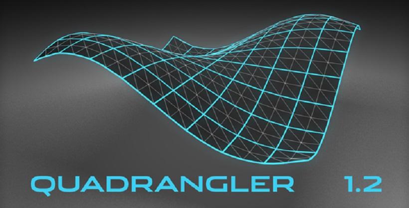 C4D四边形布线优化插件 C4DPlugin Quadrangler v1.20.0 For Cinema 4D R21-R23 Win