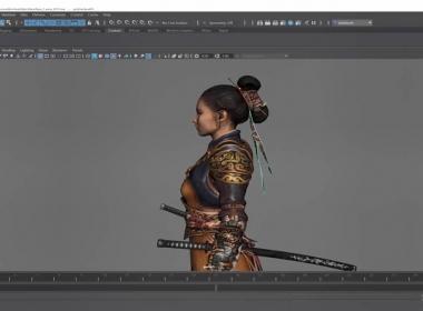 三维游戏人物绑定教程 Character Rigging in Maya for Game Production