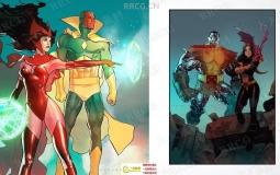 漫威DC美式女性英雄角色漫画绘画视频教程