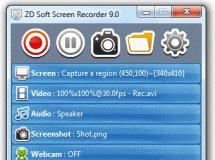 ZD Soft Screen Recorder 9.5
