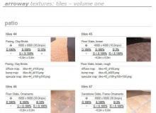 arroway textures: tiles - volume one