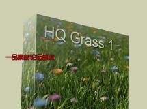 3dMentor – HQ Grass 1 高品质的花草3D模型下载