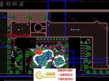 40套别墅庭院私家花园景观设计园林CAD平面图