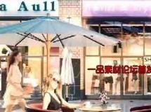商业街商业橱窗特写