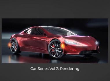 Blender汽车渲染教程 CGFasttrack – Blender Car Series Vol.2 Rendering