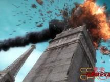 火焰楼房爆炸教程 CGPedia – Tower Destruction in Maya & Max