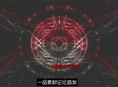 快速节奏闪烁流线光效波纹线性运动变化视觉冲击LED背景视频素材