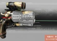 Rhino雷射枪建模工业设计视频教程 Digital-Tutors Modeling a Ray Gun in Rhino