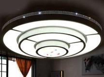 3D吸顶灯模型  客厅灯具现代简约吸顶灯3D模型下载
