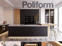 厨房橱柜模型 Kitchen Poliform Varenna My Planet 4 (vra ...