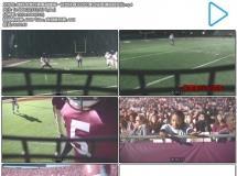 橄榄球激烈赛事碰撞第一视觉体育运动比赛过程高清视频实拍