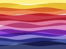 多层彩色波浪led背景视频