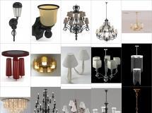 100个精品欧式灯具模型-一品素材单体家具模型库下载
