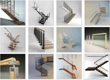 3ddd - modern stair