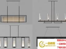 2018新中式 高品质中式灯具3D模型