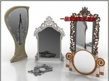 欧洲的镜子组合3D模型