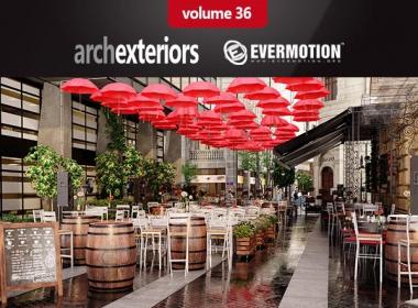 Evermotion – Archexteriors Vol. 36酒吧餐厅咖啡厅(3DS MAX格式)