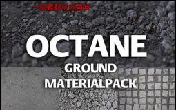 18个C4D Octane Renderer石头材质+建筑材质贴图 素材