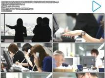 商务企业上班客服接电话员工认真工作寻找资料镜头视频实拍