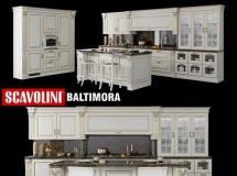 厨房橱柜模型 Scavolini Baltimora