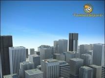 城市三维场景