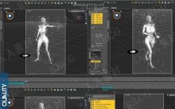 人物角色战斗动作姿势动画3D模型合集