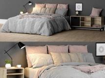 3D模型 床铺FBX三维模型