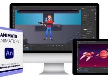 Animate二维动画教程 Bloop Animation – Animate Animation