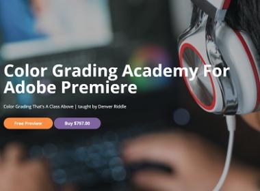 PR视频调色颜色校正教程 Color Grading Central - Color Grading Academy For Adobe Premiere