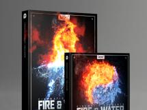 水和火无损音效Boom Library Cinematic Elements: Fire & Water Bundle WAV