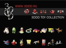 3ddd toys 3dmodels 儿童玩具模型