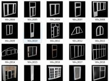 Avshare - 3D Models(窗户模型),32个窗户模型下载