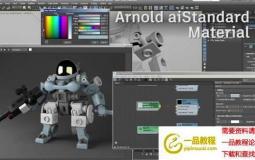 阿诺德插件Arnold渲染器 SolidAngle 3ds Max To Arnold v4.2.0.55 For 3DS MAX 2019/20 ...