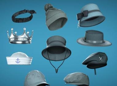 三维帽子建模教程 Artstation – Marvelous Designer Hats – 3D Fashion Design Course