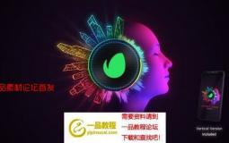 霓虹灯音频查看器ae模板 Neon Audio Visualiser