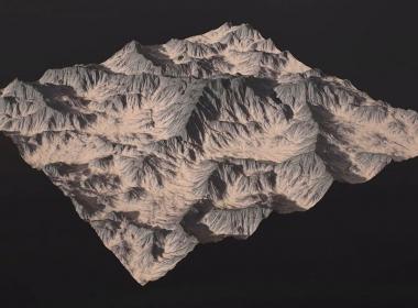 高山地形制作教程 Levelup – Terrain Erosion in Substance Designer – Bohdan Bilous