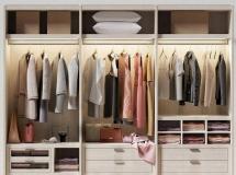 3D衣柜模型  现代衣柜衣服组合3D模型下载