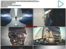 霸气稳健重型卡车形象广告推广汽车搬运货物宣传片高清视频拍摄