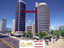 Big City 1.0 - 城市景观(含夜景,大楼,居民楼,马路)