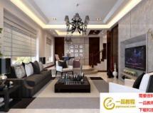 时尚家居客厅3D模型