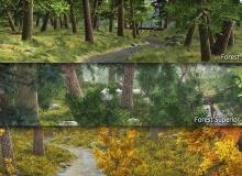 DAZ3D/POSER - Forest Bundle