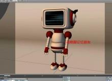 《Lightwave小机器人建模训练视频教程》英语版
