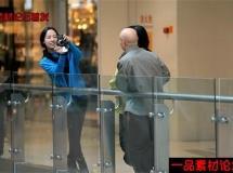 一家人逛街高清实拍视频素材1080P